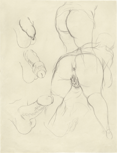 """, '""""Erotische Szene, Phase I, II und III"""",' 1927-1928, Daniel Blau"""