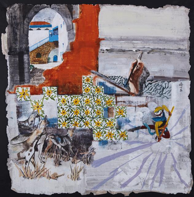 Wang Haichuan, 'Painting skill 绘画技巧', 2017, Art+ Shanghai Gallery