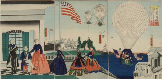 Balloon Ascension in America
