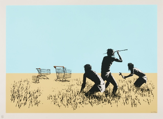 Banksy, 'Trolleys (Colour) - Signed ', 2007, Hang-Up Gallery