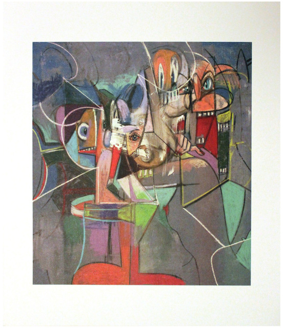 George Condo, 'Plate 9 Heads and Toes', 2011, EHC Fine Art Gallery Auction