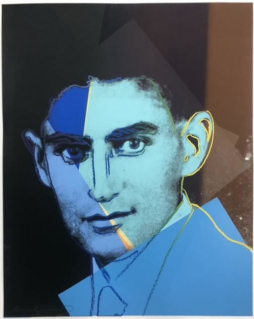 Andy Warhol, 'Franz Kafka (Unique TP)', 1980, DANE FINE ART