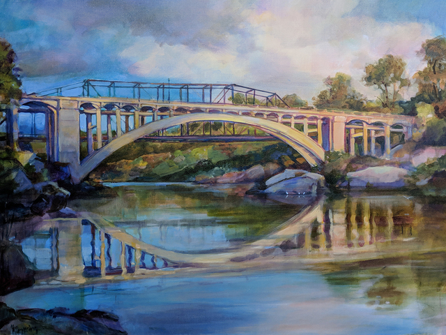 , 'Rainbow Bridge Reflection,' , Sparrow Gallery