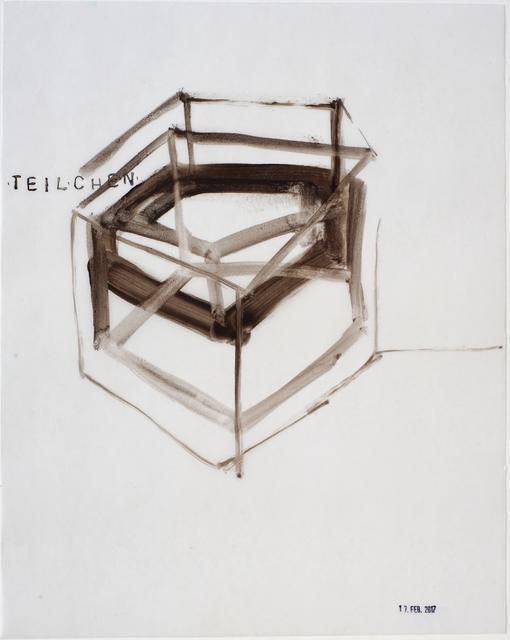 , 'Teilchen, 17.Feb 2017,' 2017, Galerie Heike Strelow