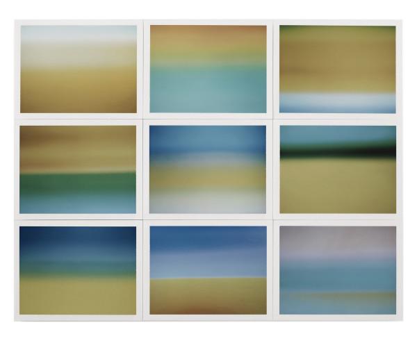 , 'Horizon, étude couleur #4,' 2015, Galerie Thierry Bigaignon