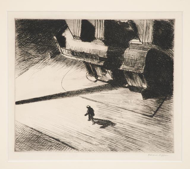 Edward Hopper, 'Night Shadows from Six American Etchings', 1921, Print, Etching, Rago/Wright
