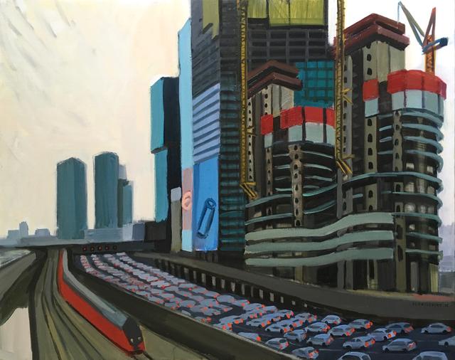 , 'Tel Aviv, Ayalon,' 2018, Rosenfeld Gallery