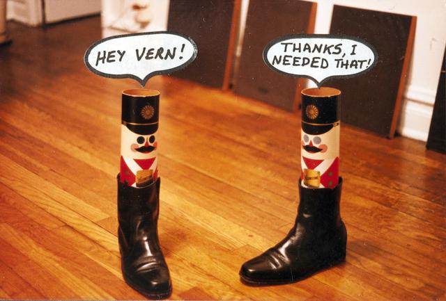 Eugene James Martin, 'Hey Vern', 1988, Eugene Martin Estate