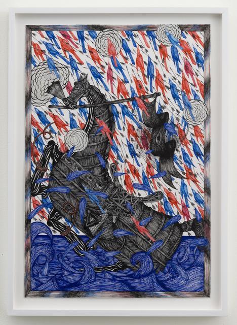 , 'Fleeting Horse,' 2015, Joshua Liner Gallery