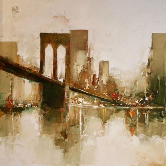 , 'Brooklyn Bridge,' 2017, Galerie A. Leadouze