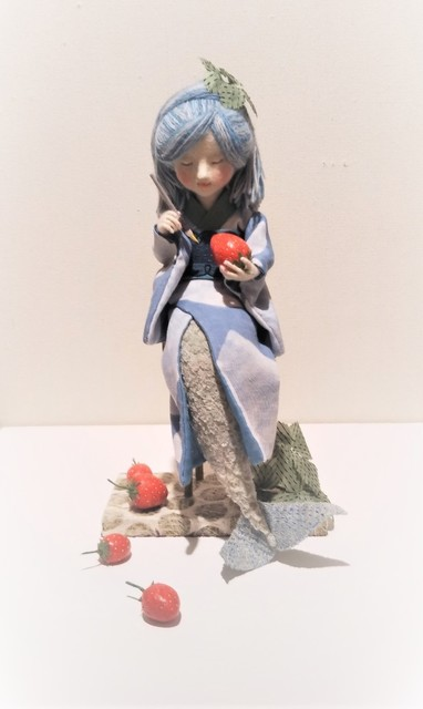 , 'Red Strawberries and  Mermaid,' , SEIZAN Gallery