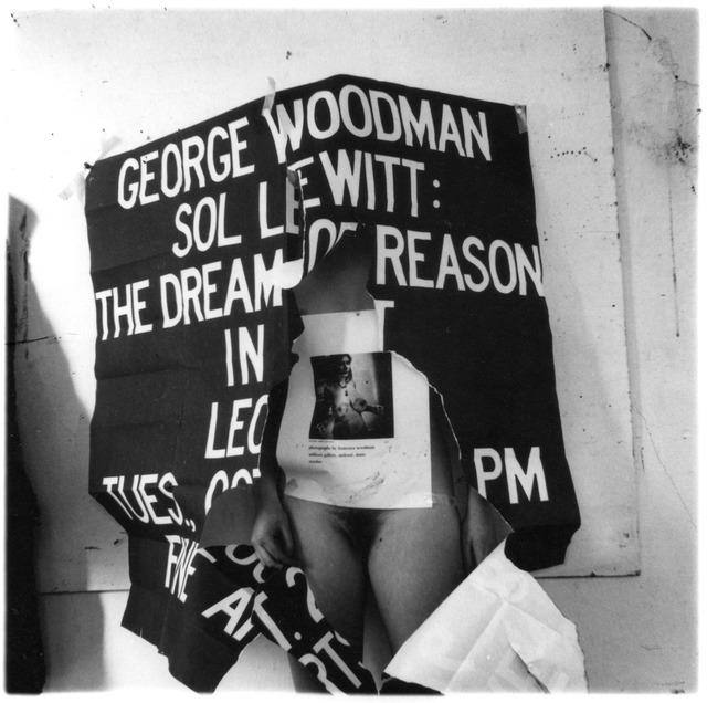 Francesca Woodman, 'Untitled (George Woodman, Sol Lewitt, Francesca Woodman),' ca. 1976, Robert Klein Gallery