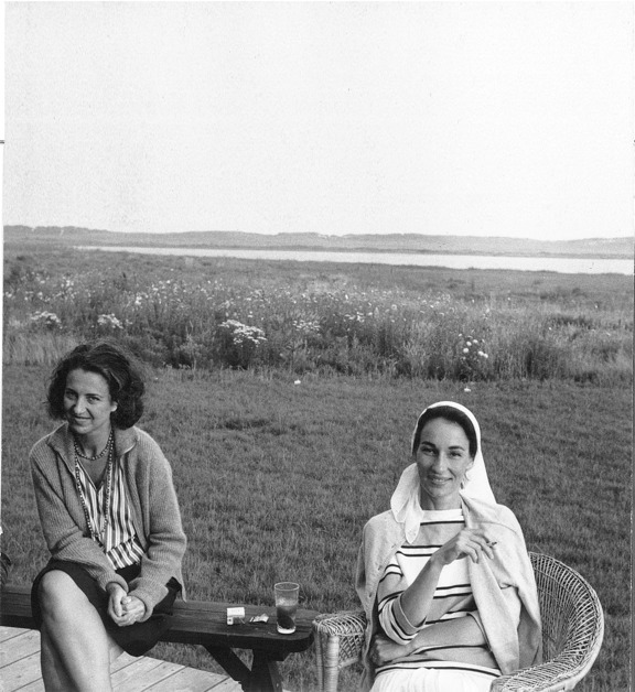 , 'Jane Freilicher and Jane Wilson, Water Mill, New York,' 1962, Parrish Art Museum