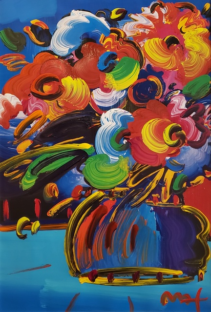 Peter Max, 'Vase of Flower ', 2015, Off The Wall Gallery