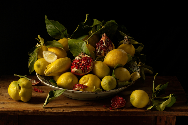 , 'Lemons and Pomegranates, after J.V.H.,' 2010, Robert Mann Gallery