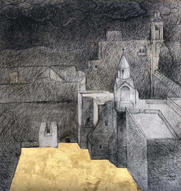 Hosni Radwan, 'Church of Nativity, Bethlehem', 2018, Zawyeh Gallery