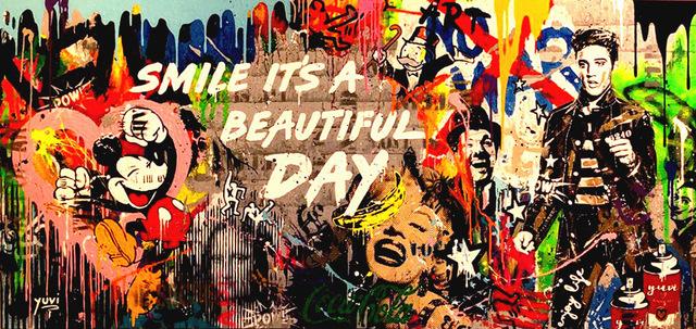 Yuvi, 'Smile it's a Beautiful Day', 2018, Dan Gallery