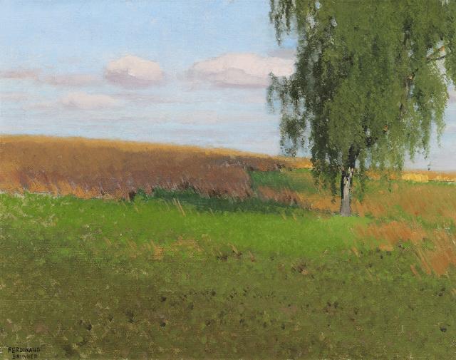 , 'Landscape with Birch,' , Galerie Bei Der Albertina Zetter