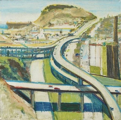 Wayne Thiebaud, 'Study for Freeway', Christie's