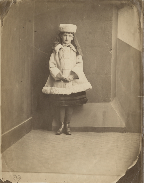 ", 'Xie (Alexandra) Kitchin as a ""Dane"",' 1873, Hans P Kraus Jr. Fine Photographs"