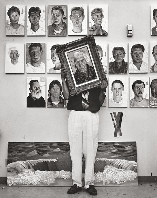 , 'David Hockney,' 1989, CAMERA WORK