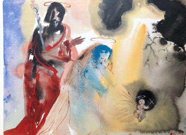 "Salvador Dalí, 'Iesu Nativitas - From ""Biblia Sacra""', 1964, Wallector"