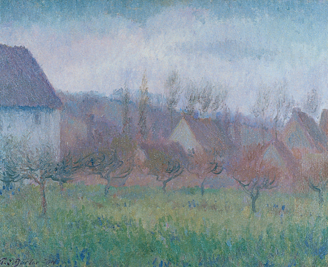 Theodore Earl Butler, 'Farm Orchard in Winter', 1904, Painting, Oil on canvas, Caldwell Gallery Hudson