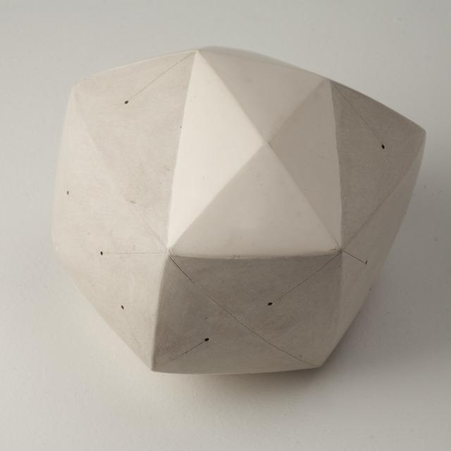 , 'Polyèdre blanc,' 2014, Maison Gerard