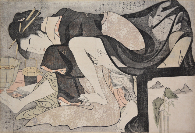 , 'A Transparent Veil: Celebrating a Passionate Meeting of Lovers,' ca. 1798, Ronin Gallery
