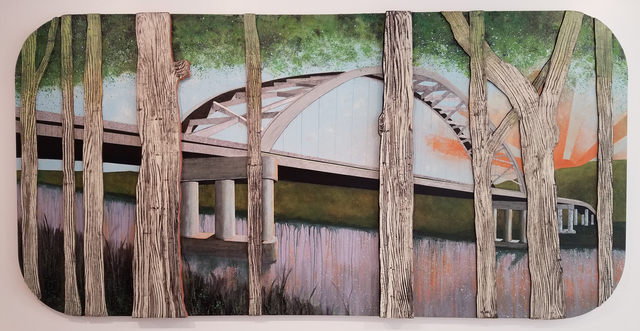 , 'Bridge View,' 2017, Imlay Gallery