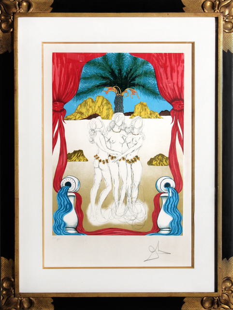 , 'Three Graces of Hawaii (Tarot: Three of Cups),' 1979, RoGallery