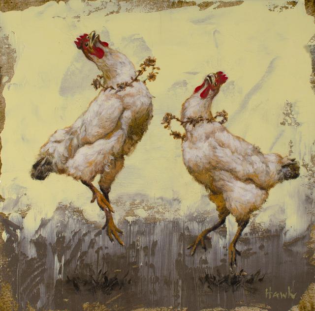 Dana Hawk, 'Fancy Dancing Chicks', 2019, Abend Gallery