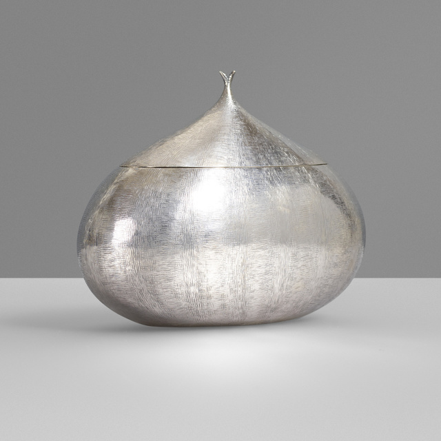 Buccellati, 'Sterling silver chestnut box', c. 1940, Wright