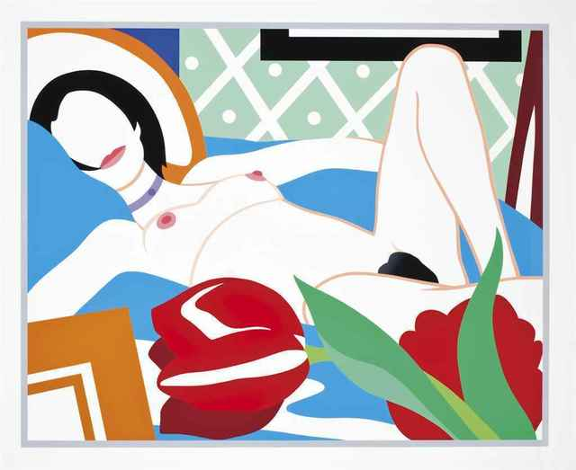 Tom Wesselmann, 'Monica with Tulips', 1989, Hamilton-Selway: Spring Forward