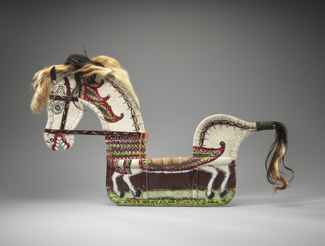 , 'Horse for Spirit-Possession Dance,' Late 20th century, Fowler Museum at UCLA