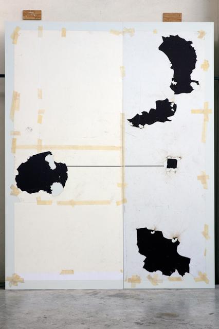 , 'Corte IV (díptico),' 2017, Terreno Baldío