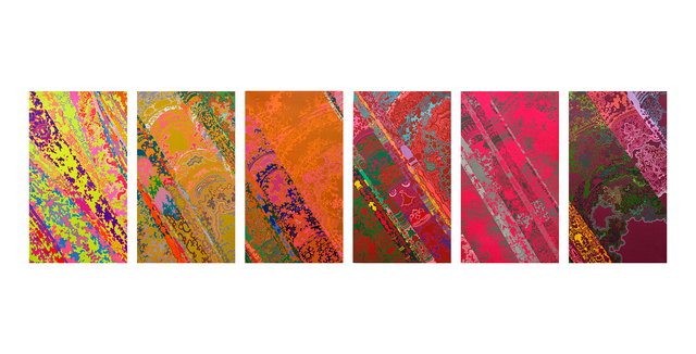 , 'Curtain No.1, 2, 3, 4, 5, 6,' 2018, ART LABOR Gallery