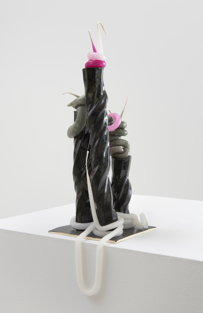 , 'Untitled 2 (Black, White, Green, Pink),' 2015, Roberts & Tilton
