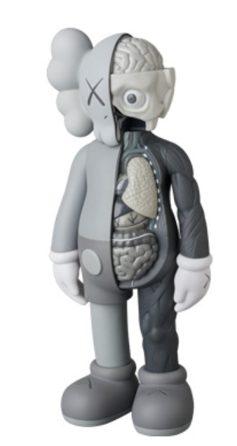 KAWS, 'COMPANION FLAYED OPEN EDITION GRAY', 2016, Dope! Gallery