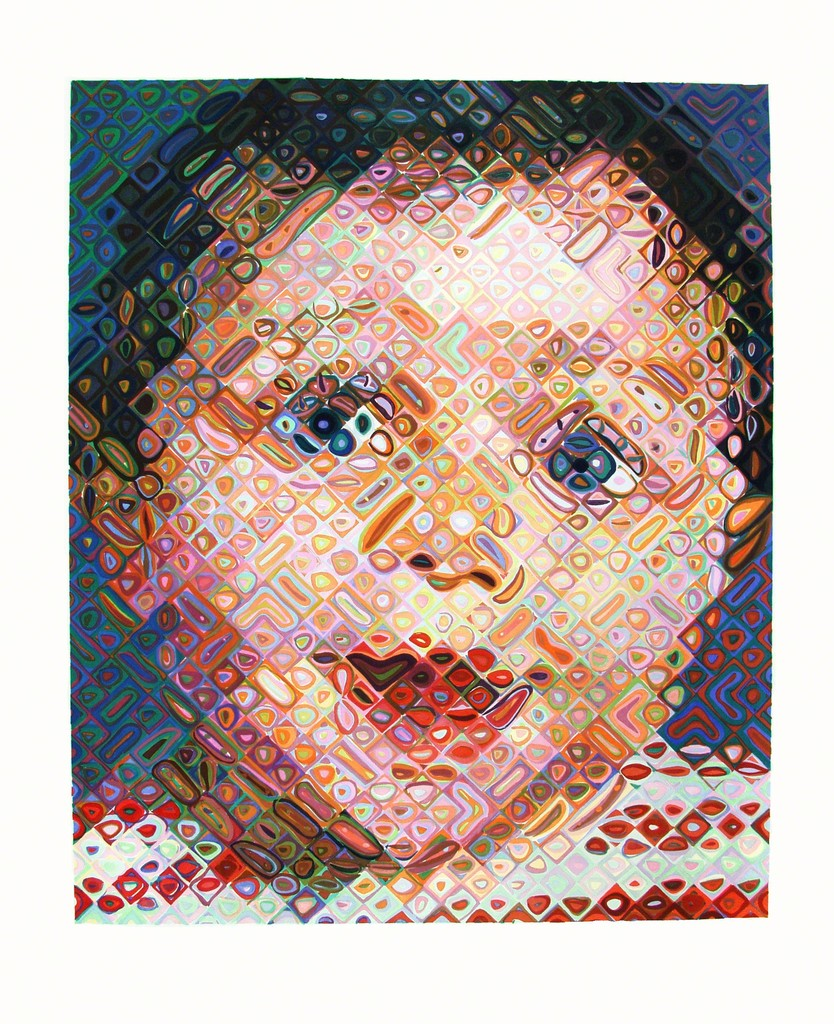 Chuck close emma 2002 available for sale artsy