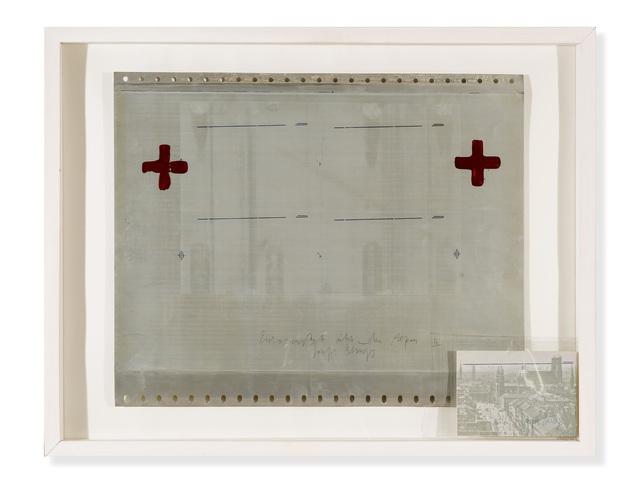 , 'Eurasienstab über den Alpen II,' 1971, Galerie Thomas
