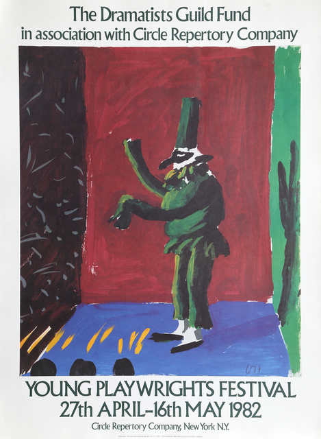 David Hockney, 'Young Playwrights Festival', 1982, RoGallery