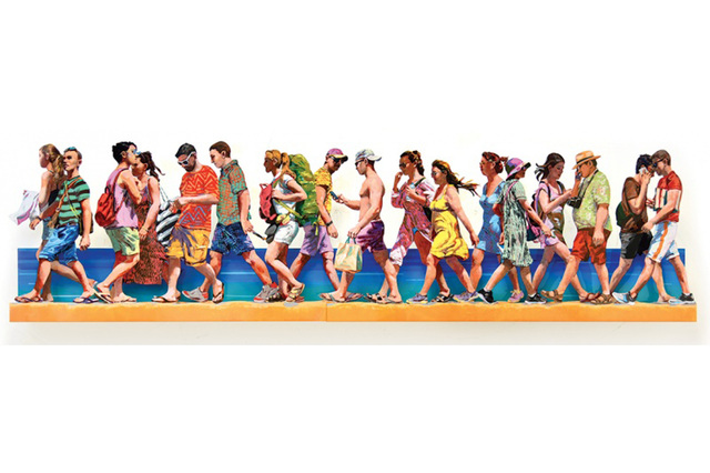 , 'Mikonos A+B,' 2018, Galerie Duret