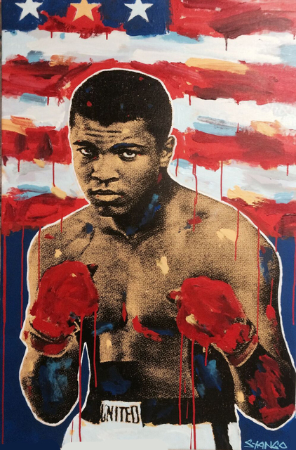 , 'Muhammad Ali Flag (Float Like a Butterfly/ Sting Like a Bee) ,' 2017, Artist's Proof