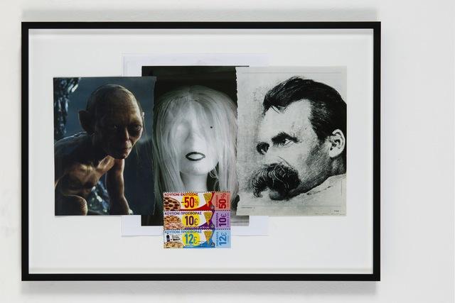 , 'OT, (Nietzsche etc.),' 2014, Eleni Koroneou