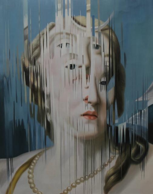 """, 'Ejercicio de distorsión sobre """"Diana"""" de Rosalba Carrera,' 2018, MAIA Contemporary"""