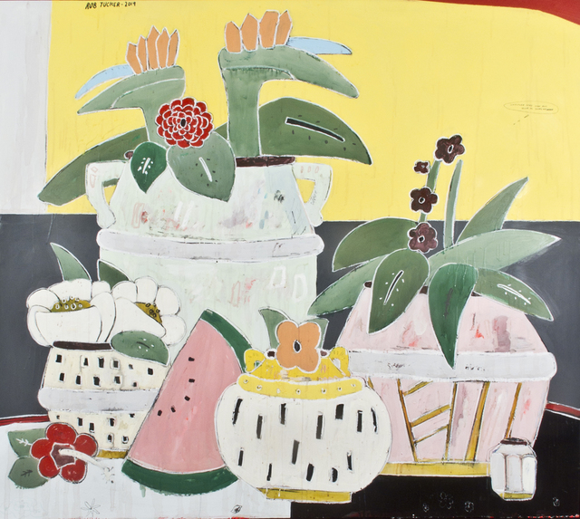Rob Tucker, 'Sunflower Seed Loaf and Olive Oil Supreme, 2019-142 x 162 cm', 2019, Artual Gallery