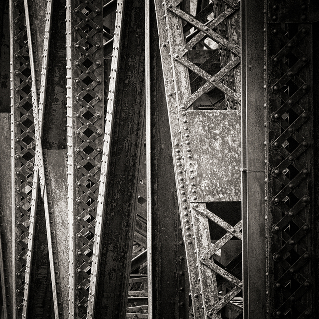, 'Nickle Plate Bridge Detail,' , The Bonfoey Gallery