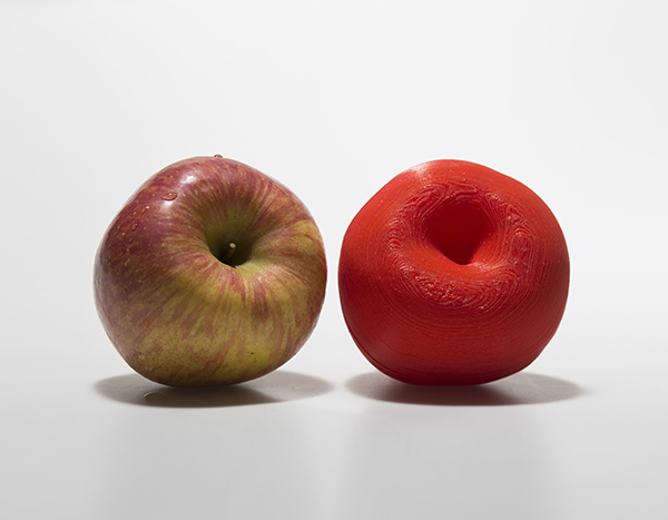 , 'A Red Apple and Its Clone,' 2014, Savina Museum of Contemporary Art