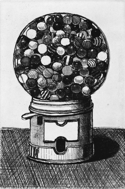, 'Dark Gumball Machine,' 2017, Crown Point Press